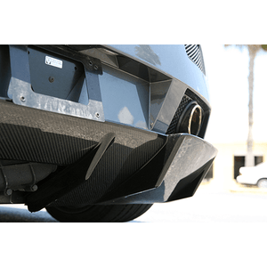 Lamborghini Gallardo Carbon Fiber Lower Rear Diffuser by RSC Tuning