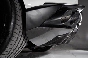 Huracan Carbon Fiber Slip-on Rear Diffuser