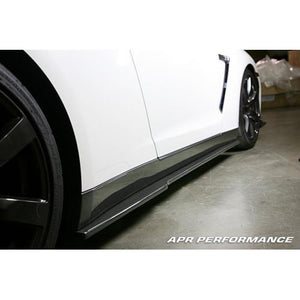 APR Performance Nissan GT-R R35 Carbon Fiber Side Skirt Rocker Extensions