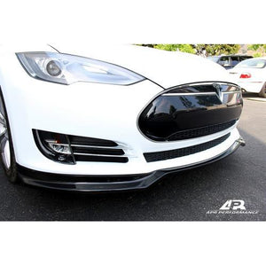 APR Performance Tesla Model S Carbon Fiber Front Lip