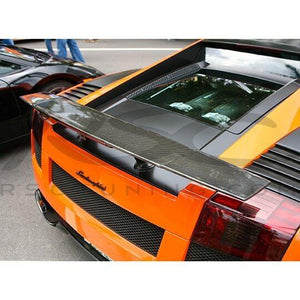 Superleggera Style Rear Carbon Fiber Wing by RSC Tuning