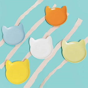 ViviPet Designed | Cat Shaped Plates - Set of 5