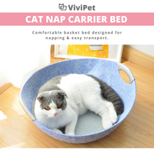 Load image into Gallery viewer, ViviCat Selected | Cat Nap Carrier Bed
