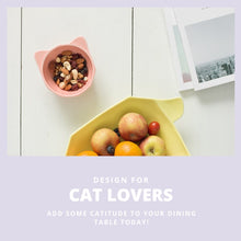 Load image into Gallery viewer, raised cat bowl