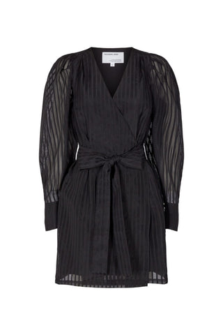 Designers remix liva wrap dress