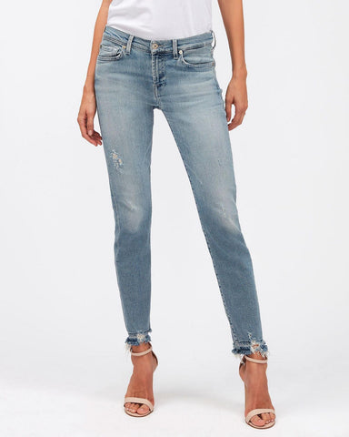 For All Mankind Skinny Crop Luxe Vintage