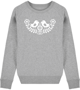 FOLQ Grey Sweatshirt inspired by Scandinavian Folklore