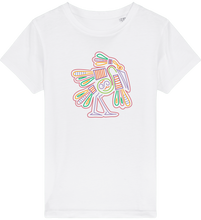 Load image into Gallery viewer, FOLQ Kids' T-shirt from organic cotton with colourful Mexican Bird design