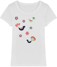 Load image into Gallery viewer, FOLQ T-Shirt from organic cotton with fantasy like print