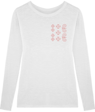 Load image into Gallery viewer, FOLQ Cicmany T-Shirt Long Sleeve White
