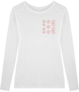 FOLQ Cicmany T-Shirt Long Sleeve White