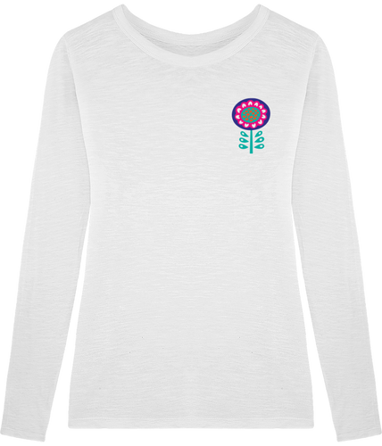 FOLQ Fantasy Daisy T-Shirt Long Sleeve