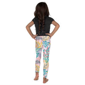 Kids' Leggings Fantasy Tropical