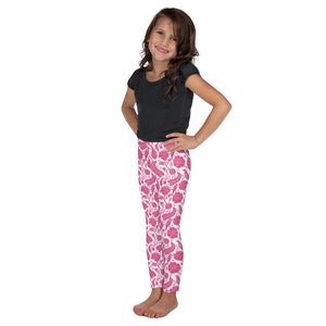 Kids' Leggings Paisley Fuchsia