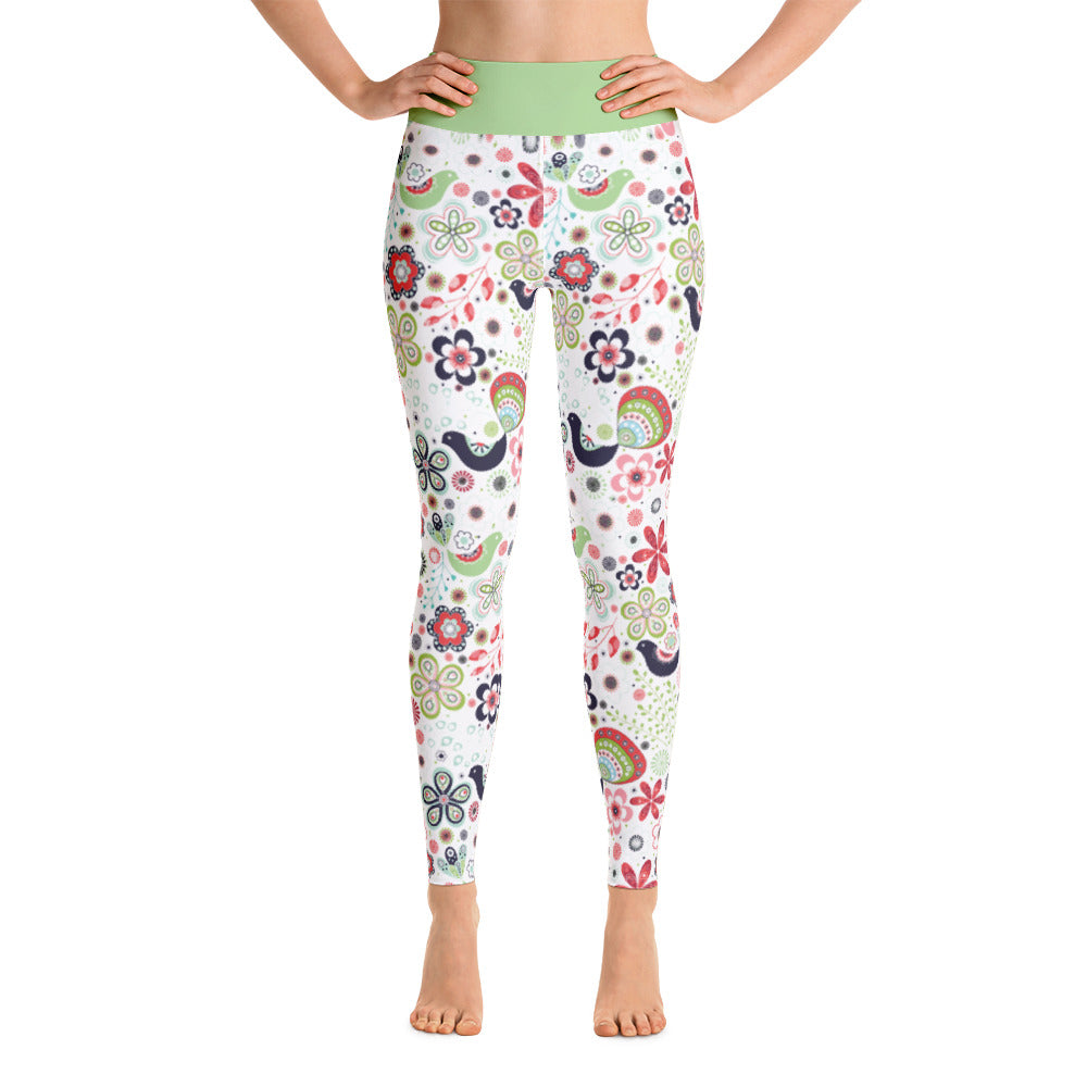 FOLQ Perfect Yoga Leggings Fantasy Multi