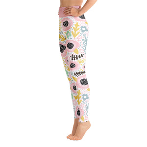 Perfect Yoga Leggings Fantasy Pink Poppy