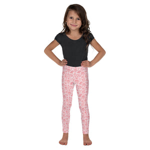 FOLQ Kids' Leggings Skull Red