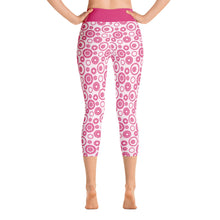 Load image into Gallery viewer, Yoga Capri Leggings Altai Fuchsia