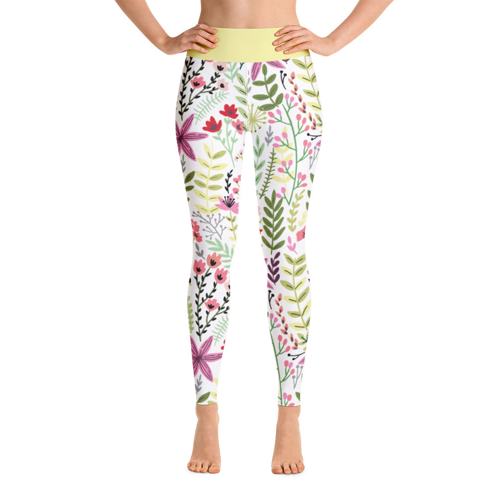 FOLQ Perfect Yoga Leggings Fantasy Sunrise