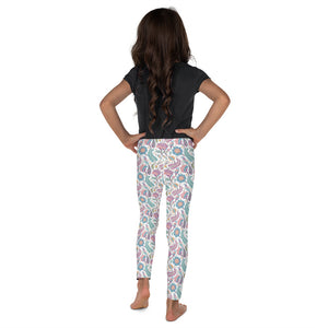 Kids' Leggings Paisley Multi