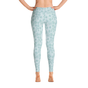 Perfect Leggings Mexican Bird Emerald