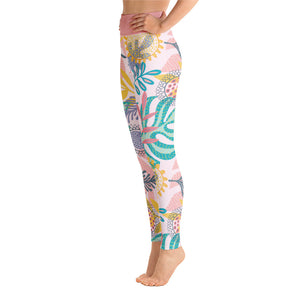 Perfect Yoga Leggings Fantasy Tropical