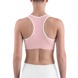 Sports Bra Fantasy Pink Poppy