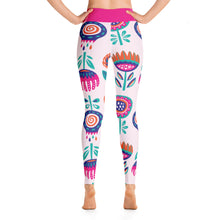 Load image into Gallery viewer, Perfect Yoga Leggings Fantasy Peony