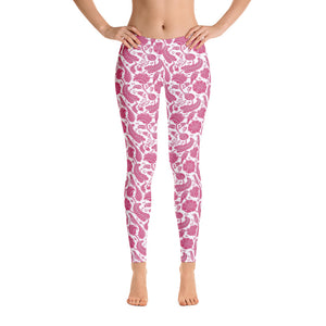 Perfect Leggings Paisley Fuchsia
