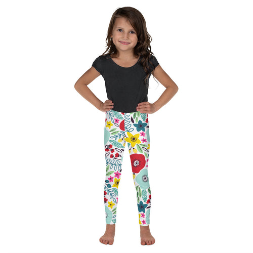 FOLQ Kids' Leggings Fantasy Poppy