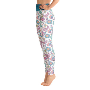 Perfect Yoga Leggings Paisley Multi