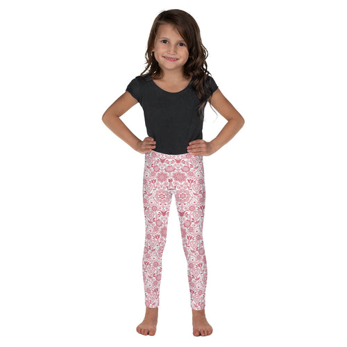 FOLQ Kids' Leggings Floral Pink