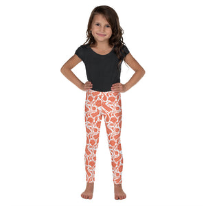 FOLQ Kids' Leggings Paisley Cobalt Blue