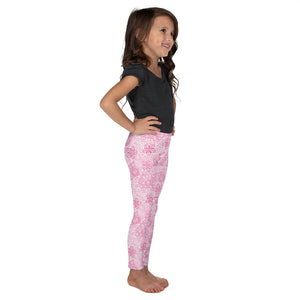 Kids' Leggings Mexican Bird Fuchsia