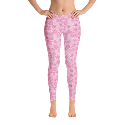 FOLQ Perfect Leggings Mexican Bird Fuchsia