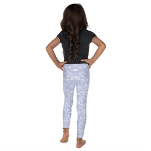 Kids' Leggings Floral Violet