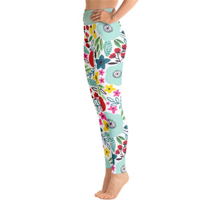 Perfect Yoga Leggings Fantasy Poppy