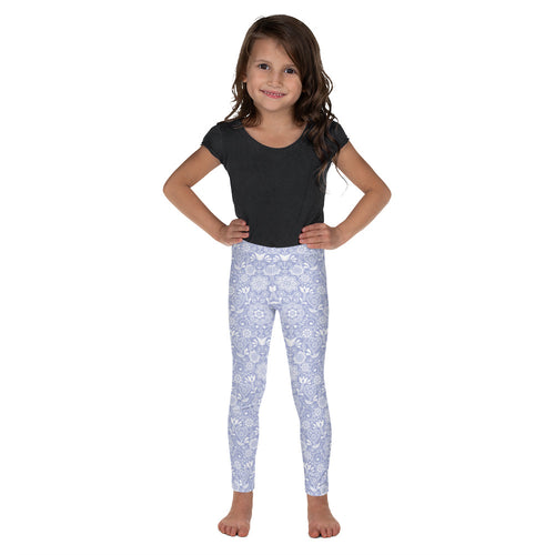 FOLQ Kids' Leggings Floral Violet