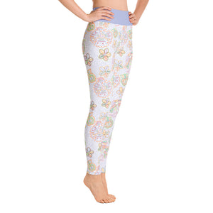 FOLQ Perfect Yoga Leggings Mexican Bird Multi
