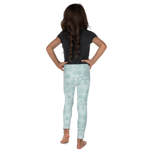 Kids' Leggings Mexican Bird Emerald