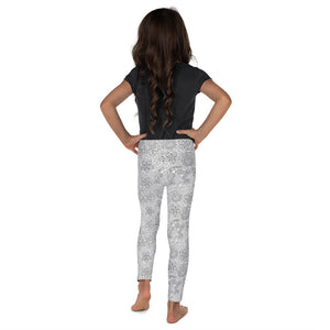 Kids' Leggings Mexican Bird Grey