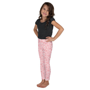 Kids' Leggings Skull Red