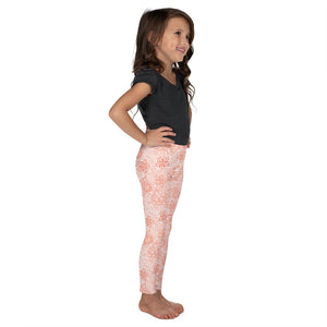 Kids' Leggings Mexican Bird Orange