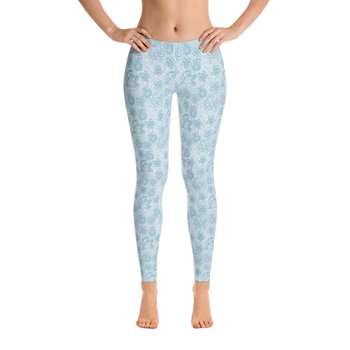 FOLQ Perfect Leggings Mexican Bird Turquoise