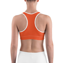 Load image into Gallery viewer, Sports Bra Mexican Bird Orange