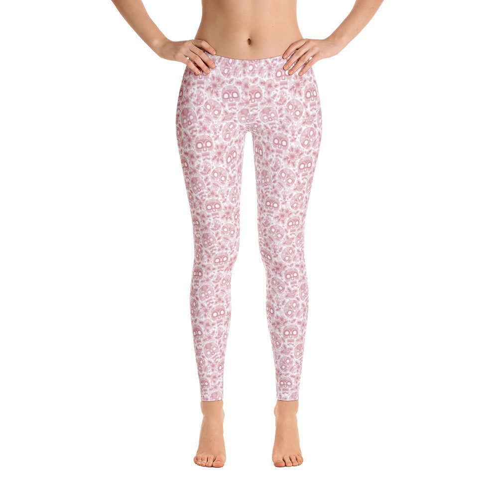 FOLQ Perfect Leggings Skull Ruby