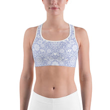 Load image into Gallery viewer, Sports Bra Floral Violet