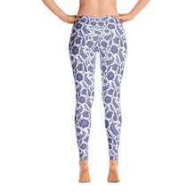 Load image into Gallery viewer, Perfect Leggings Paisley Cobalt Blue