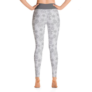 Perfect Yoga Leggings Mexican Bird Grey