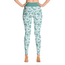 Load image into Gallery viewer, Perfect Yoga Leggings Paisley Emerald